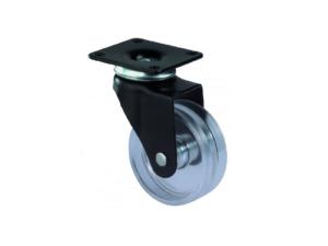 Design hjul - Sort og transperant - F95.051 - Hjulshop