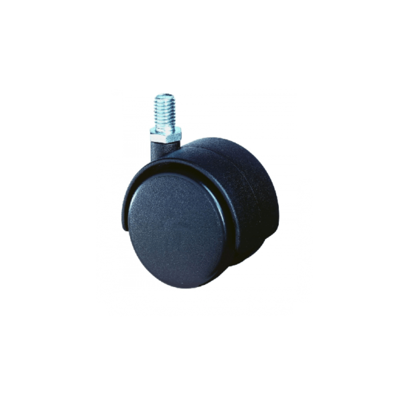 Møbelhjul - F75.040.G08 - 40 mm - Hjulshop