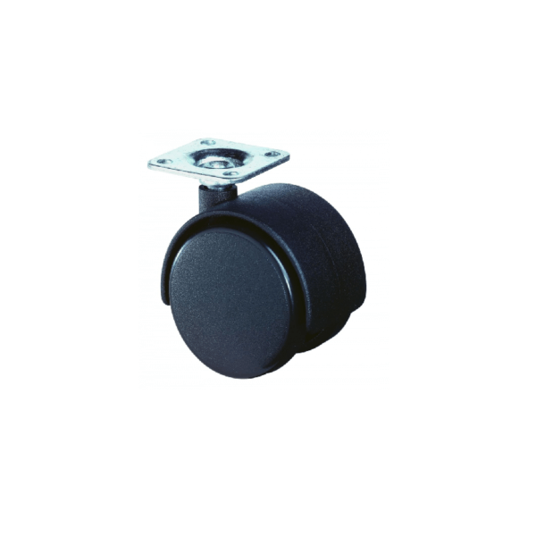 Møbelhjul - F75.040.PL - 40 mm - Hjulshop