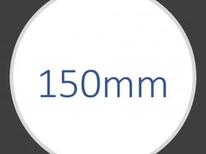 150 mm hjul