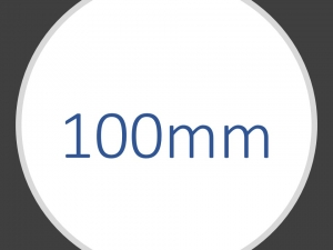 Ø 100 mm apparathjul