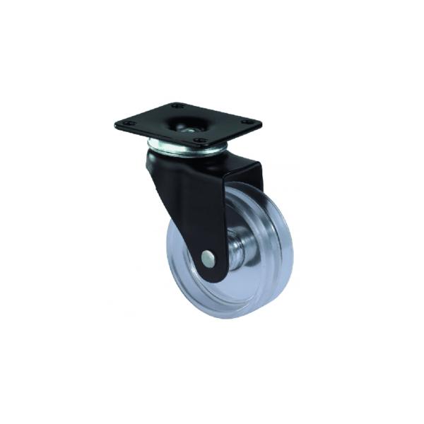 Design hjul Sort og transperant F95.051 Hjulshop